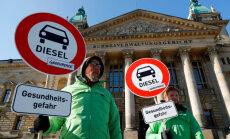 Vācijas valdība panāk vienošanos par izvairīšanos no dīzeļauto aizlieguma pilsētās