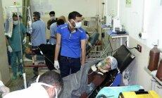 ANO novērotāji apsūdz Sīrijas režīmu trešajā ķīmisko ieroču uzbrukumā