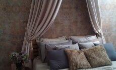Jauna telpa: guļamistaba kā muižā jeb pārvērtības karaliskā noskaņā