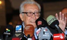 Brahimi aicina īstenot reālas pārmaiņas Sīrijā un izveidot pārejas laika valdību