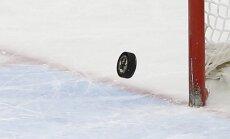 Latvijas U-18 izlases hokejists Smirnovs: mūsu mērķis ir PČ ceturtdaļfināls