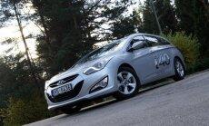 'DELFI Auto' izmēģina jauno universāli 'Hyundai i40'