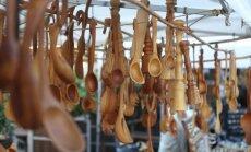Foto: Ražas svētku lustes tradicionālajā Miķeļdienas gadatirgū Doma laukumā