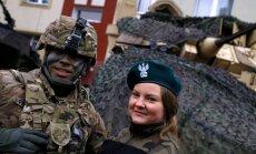 Krievija apsūdz ASV karavīrus par iesaistīšanos 'provokatīvās akcijās' Baltijā un Polijā