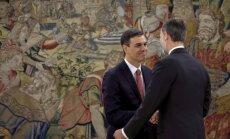Pedro Sančess nodevis Spānijas premjera zvērestu