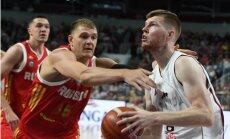 Latvijas basketbola izlase pārbaudes mačā nenosargā pārsvaru un zaudē Krievijai