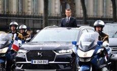 Jaunajam Francijas prezidentam izgatavots speciāls 'Citroen' apvidnieks