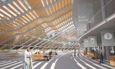 ФОТО: определена строительная компания, которая перестроит эстраду в Межапарке