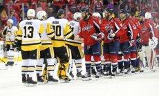 'Penguins' ar 'sauso' uzvaru no Stenlija kausa izslēdz 'Capitals'