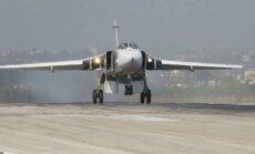 Turcija notriekusi Krievijas lidmašīnu; nošauts pilots un gājis bojā Krievijas karavīrs (teksta tiešraides arhīvs)