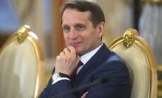 Somija liedz iebraukt valstī Krievijas domes priekšsēdētājam Nariškinam