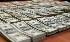 ASV dolāra vērtība pieaug pret eiro un Lielbritānijas mārciņu
