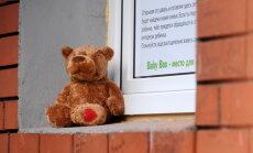 Ventspils glābējsilītē atstāts pirmais mazulis