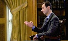 Asads varētu gatavot ķīmisko uzbrukumu, brīdina Baltais nams