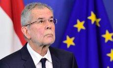 'Delfi' no Strasbūras: ES sašķelt ir viegli, brīdina Austrijas prezidents