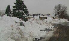США после мощнейшего снегопада грозят наводнения