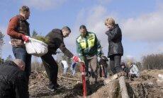Vējonis: kopīgiem spēkiem esam padarījuši savu zemi zaļāku un tīrāku