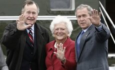 Vīrs un dēls kā ASV prezidenti – Barbaras Bušas dzīves līkloči