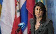 ASV aicinās sasaukt ANO Drošības padomes sēdi Irānas protestu lietā