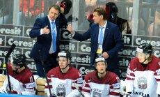 Latvijas hokeja izlase 'izdzīvošanas' spēlē tiekas ar Franciju