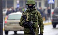 Krievijas karavīrs nošauj trīs dienesta biedrus un nošaujas pats