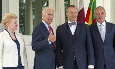 ASV viceprezidents Bērziņam apliecina atbalstu Baltijai miera nodrošināšanā