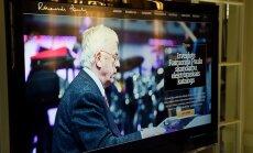 Raimonds Pauls tagad internetā. Atvērts līdz šim pilnīgākais Maestro darbu katalogs tīmeklī