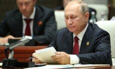 Putins aicina sniegt drošības garantijas Ziemeļkorejai
