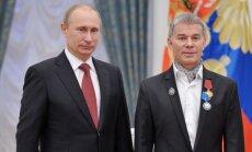 Krievijas dziedātājam Gazmanovam liedz iebraukšanu Lietuvā