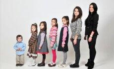 Sešas meitas un pastarītis Rūdolfs: daudzbērnu ģimenes stāsts
