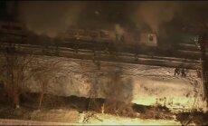 Pie Ņujorkas vilciena sadursmē ar 'Jeep' septiņi bojāgājušie
