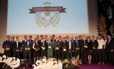 Foto: Godina Latvijas futbola gada izcilniekus