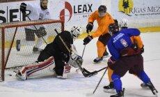Foto: Latvijas hokeja izlase gatavojas EIHC turnīram Francijā