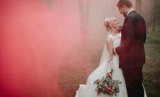 Rūta Dvinska bērnībā par greznām kāzām nesapņoja