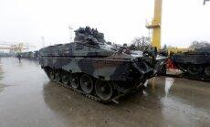 Trešdien Ādažos ieradīsies Slovākijas kājnieku kaujas mašīnas