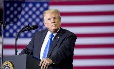 Tramps savai pārvēlēšanas kampaņai iekrājis vairāk nekā 100 miljonus dolāru