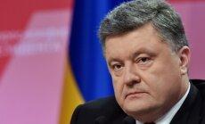 Krievijas 'rūpes' par krievvalodīgajiem maksājušas dzīvību teju 7000 Ukrainas pilsoņu, uzsver Porošenko
