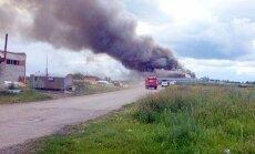 Krievijā deg ķīmisko izstrādājumu rūpnīca 'Altajagrohimija'