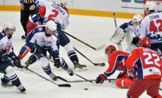 Hockey. KHL. CSKA vs Torpedo, Kaspar Daugavins