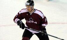 Latvijas hokeja izlase bija pārāka raksturu cīņā, uzsver treneris