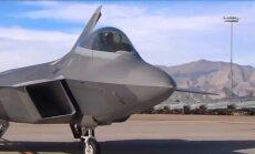 Polijā ieradušies modernie F-22 'Raptor' iznīcinātāji