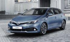ФОТО: Toyota провела первый рестайлинг модели Auris