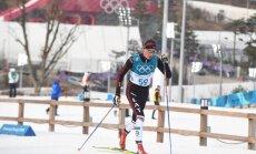 Bikše finišē 57. vietā 50 km distancē; par olimpisko čempionu kļūst soms Nīskanens