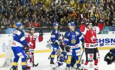 Matt Ellison scores HC Davos Spengler Cup