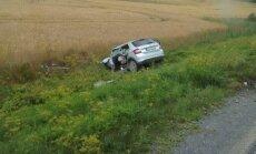 В трагическом ДТП на трассе А9 под Добеле погиб водитель (ДОПОЛНЕНО)