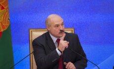 Lukašenko: Minskai un Rīgai ir lielas iespējas iegūt tiesības rīkot pasaules čempionātu hokejā