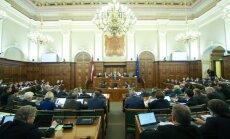 Отвергнув налоговую реформу, Сейм выразит недоверие правительству