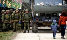 Пограничники насчитали в Крыму 30 000 российских военных