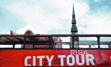 Oдин турист в Риге тратит в среднем 100 евро в день