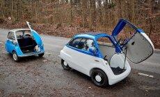 Klasiskā 'BMW Isetta' stila elektriskais 'Microlino' par 12 tūkstošiem eiro